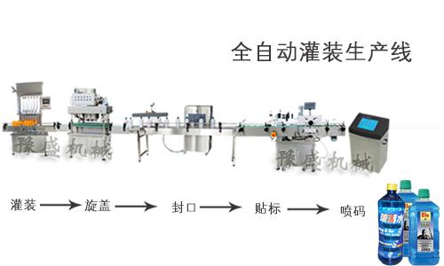 玻璃水灌装机_河南郑州豫盛打包机械有限公司