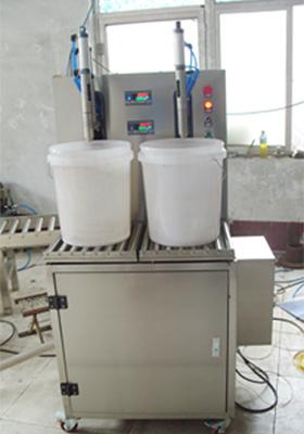 半自动称重灌装机_河南郑州豫盛打包机械有限公司